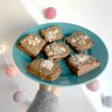 Sokerittomat ja jauhottomat browniet bataatista