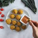 Gluteenittomat falafelit uunissa + dippi